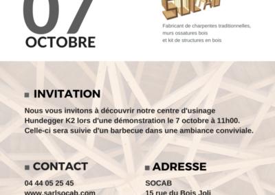 Invitation Démonstration SOCAB