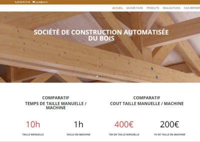 Mise à jour du site web Socab