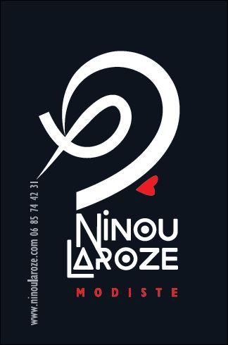 Carte de visite Ninou Laroze