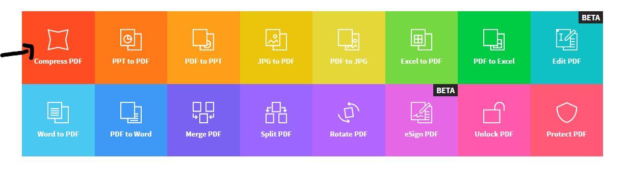 Compresser un fichier pdf